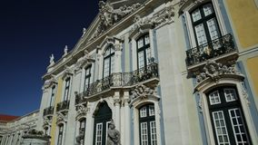 Queluz National Palace stock footage