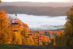 Spectacular fall scenery Stock Image