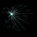 Spectacular fireworks background Stock Photo