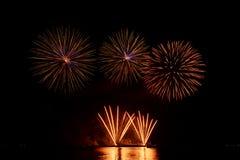 Spectacular fireworks Stock Image