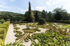 Vila Real - Mateus Palace Gardens royalty free stock image