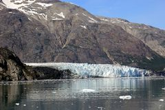 Spectacular glacier in  Alaska Royalty Free Stock Images
