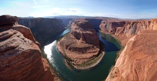 Horseshoe Bend of the Colorado River stock photo