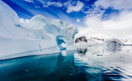 Free Spectacular Ice Formations In Antarctica Royalty Free Stock Image - 103014476