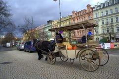 Spectacular Karlovy Vary scene Stock Photography