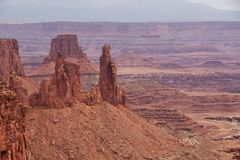 Spectacular landscapes of Canyonlands National park in Utah, USA.  Stock Images