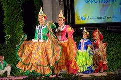 Spectacular latin female dancers Stock Images
