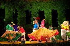 Spectacular latino dance show Royalty Free Stock Photos