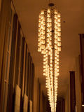 Spectacular lighting at John F Kennedy Arts Centre in Washington DC USA Royalty Free Stock Photography