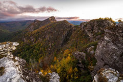 Spectacular Linville Gorge Views Stock Image