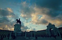 Spectacular Lisbon Stock Image