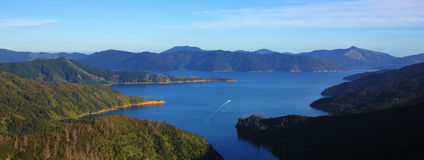 Spectacular Marlborough Sounds Stock Photography