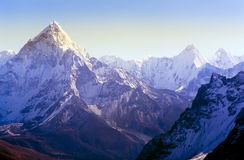 Himalaya Mountains Stock Photography