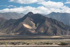 Spectacular mountain scenery on the Mount Everest Base Camp trek through the Himalaya Royalty Free Stock Photo