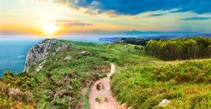 Spectacular mountains on the Spanish coast Stock Photography