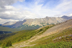 Spectacular Mountains on a Summer Day Royalty Free Stock Images