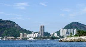 Spectacular panorama of Rio de Janeiro stock photo
