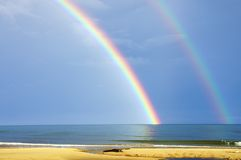 Spectacular Rainbow Royalty Free Stock Photos
