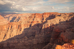 Spectacular Scenic: the Grand Canyon from Guano point, Hualapai Stock Photography