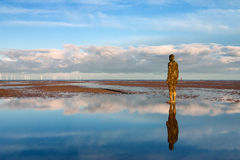 Spectacular sculptures by Antony Gormley Stock Images