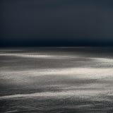 Spectacular seascape in dusk Stock Photo