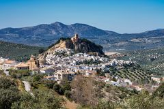 Montefrio in the Granada region of Andalusia in Spain stock images