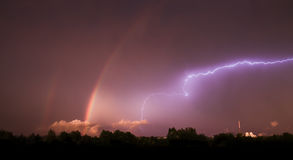 Spectacular storm Royalty Free Stock Image