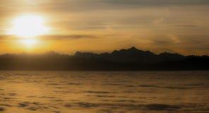 Spectacular sunrise Royalty Free Stock Photography