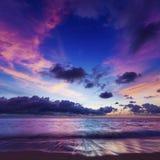 Spectacular sunset Stock Photo