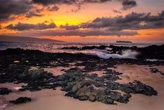 Molokini Sunset Stock Image
