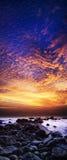 Spectacular sunset Royalty Free Stock Image