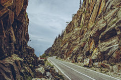 Spectacular Transfagarasan road, Romania Stock Photography