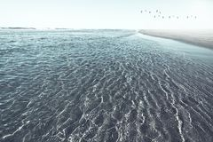 Spectacular view of unspoilt and isolated beach Royalty Free Stock Image