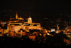 Spectacular view of Budapest at night Stock Photography
