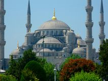 Spectacular view of Istanbul Royalty Free Stock Photography