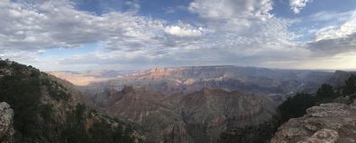 Spectacular view of the Grand Canyon Stock Image