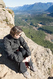 Spectacular view from Rattlesnake Ledge Trail Royalty Free Stock Photography