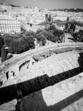 Spectacular view Rome. Spectacular view in Rome royalty free stock image