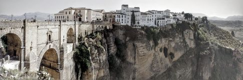 Spectacular view Ronda in Andalusia Spain Royalty Free Stock Image