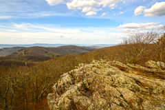Spectacular Viewpoint in the Eastern Mountains Royalty Free Stock Images