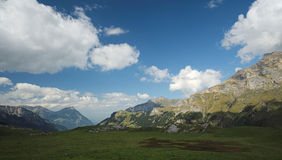 Spectacular views in the Kiental Valley (Berner Oberland, Switzerland) Stock Photos