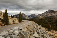 Spectacular views of the Yosemite National Park Stock Photo