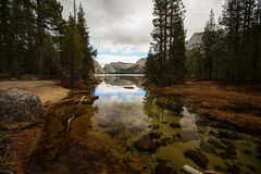 Spectacular views of the Yosemite National Park. In autumn, California, USA Royalty Free Stock Images