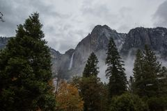 Spectacular views of the Yosemite National Park in autumn, Calif. Ornia, USA Royalty Free Stock Photos