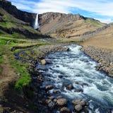 Spectacular waterfall Stock Photo