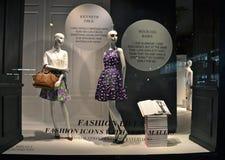 Spectacular window display at Ralph Lauren in NYC Stock Image