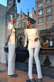 Spectacular window display at Ralph Lauren in NYC Stock Photography