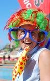Spectateur d'Ironkids 2011, Afrique du Sud Image stock