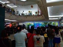 Spectateurs d'événement de mail Image libre de droits