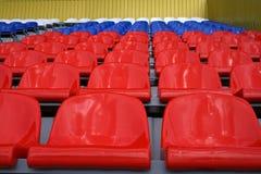 Spectateurs en attendant de tribune Photo libre de droits